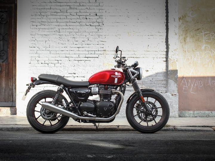 Best Standard Motorcycle Triumph Bonneville Street Twin