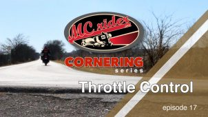 Motorcycle Cornering Series (Throttle Control) – Episode 17