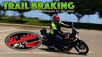 How to trail brake a motorcycle. Is it useful on the streets?