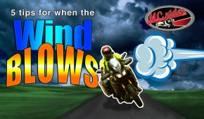 5 techniques to conquer the wind on a motorcycle